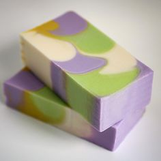 Tall and Skinny Shimmy Soap by Mimi and Boo