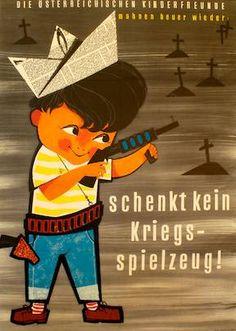 Die österreichischen Kinderfreunde mahnen heuer wieder: schenkt kein Kriegsspielzeug!
