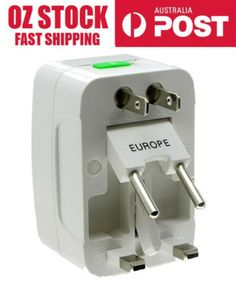 2 x universal travel adapter plug #converter uk/au/us/eu/jpn #socket #compatible,  View more on the LINK: http://www.zeppy.io/product/gb/2/172188348121/