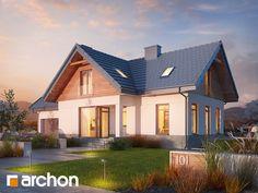 Sześciopokojowy, wygodny i piękny - Dom w Pomelo! Home Fashion, Mansions, House Styles, House Ideas, Home Decor, Mansion Houses, Homemade Home Decor, Manor Houses, Fancy Houses