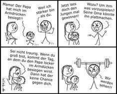 Armdrücken. Is lieb? | #familie #vater #sohn #konkurrenz #islieb