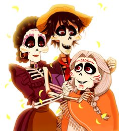 Coco [Dia del Padre] (Animated Gif) by on DeviantArt Disney Pixar Coco, Disney Fan Art, Disney And Dreamworks, Disney Magic, Walt Disney, Disney Fanatic, Disney Addict, Disney Sketches, Disney Drawings