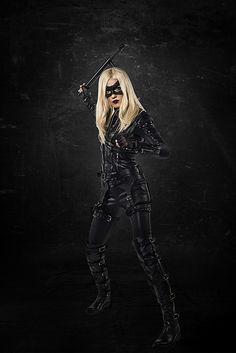 Katie Cassidy: Black Canary Photos – Arrow Season 3 | DC Comics