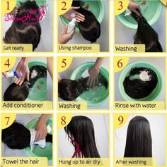 how to wash your wigs?How To Take Care Of Your Remy Human Hair Wig Remy Human Hair, Remy Hair, Human Hair Wigs, Hair Extension Care, Real Hair Wigs, Front Hair Styles, Hair Front, Business Hairstyles, Wig Making