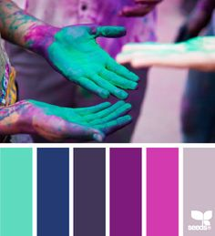 teal and purple kitchen - Google Search
