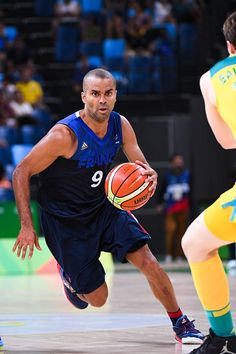 #RIO2016 Best of Day 1 - Tony Parker of France during Basketball game between France and Australia on Olympic Games 2016 at Carioca Arena 1 on August 6 2016 in Rio de Janeiro...