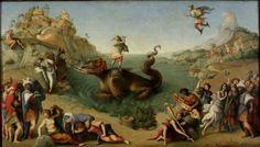 Perseu libertando Andrômeda, por Piero di Cosimo (1510-13)