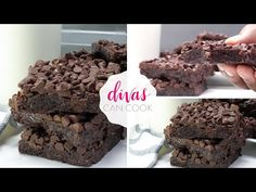 Fudgy, chewy vegan brownies made with simple ingredients. Very kid-friendly recipe, Can't tell it's vegan brownies! No avocado or applesauce! Fudgy Vegan Brownies, Fudgy Brownie Recipe, Brownie Bar, Brownie Recipes, Divas Can Cook, Cake Pops How To Make, Vegan Ice Cream, Food Test, Vegan Baking