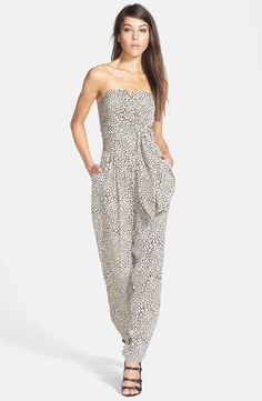 Pin for Later: How Jumpsuits Are Taking Over — and Why You Should Have One  Rules of Etiquette Tie-Front Print Jumpsuit ($68)