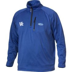 Drake Waterfowl Men's University of Kentucky Breathelite 1/4 Zip Pullover (Blue, Size X Large) - NCAA Licensed Product, NCAA Men's Fleece/Jackets a...