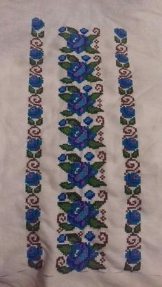 Floral Tie, Projects To Try, Mary, Nightgowns, Crossstitch, Bugle Beads, Table Toppers, Floral Lace