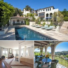 | Hilary Swank's Pacific Palisades Home