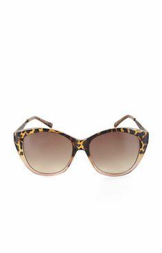 Ombre Cat-Eye Sunglasses | @BCBG MAX AZRIA