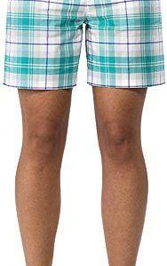 IJP Design Women's Tartan Shorts - Green, Size 10