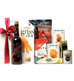 Belgian Beer and some delicacies Delicious gift package for all lovers of a good classy Belgian beer.Delicious gift package for all sweets lovers among us with a bottle Belgian beer. All the products will be packed in a gift box which then will be wrapped up in beautiful white paper and sealed with a silken bow.