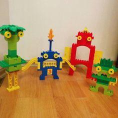 Lego Duplo monsters