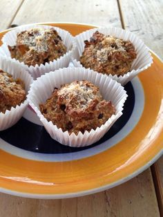 havermout muffins puur suzanne