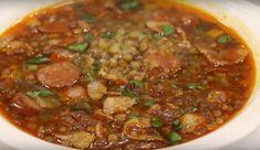 Очень вкусный чечевичный суп по-испански