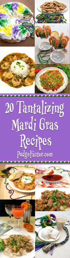 From easy beginnings to dramatic endings and everything in between, tempt your tastebuds with 20 tantalizing Mardi Gras recipes. via @c2king