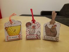 Geschenke - Stampin' Up! - Das Gelbe vom Ei - Savanne, Glutrot, Calypso - Present