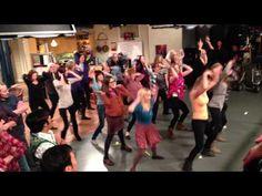 The Big Bang Theory complete flash mob