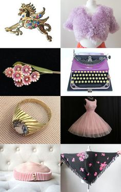 Eclectic Vintage No 1 by Karen Marlette on Etsy--Pinned with TreasuryPin.com Vintage Vogue Fashion, Collections, Gift Ideas, Antiques, Gifts, Etsy, Beautiful, Antiquities, Antique