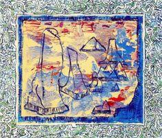 Pierre Alechinsky Museum Of Fine Arts, Museum Of Modern Art, Abstract Expressionism, Abstract Art, Art Pierre, Art Informel, Tachisme, New York Museums, Art Database