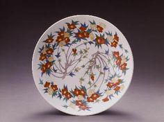 Japanese Iroe Jiki Pottery.