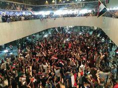 Hot News Naija: Anti-government protest: Iraqi forces fire tear ga...