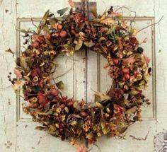 acorn wreath by freida
