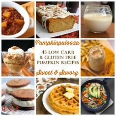 Pumpkinpalooza - 45 Low Carb, Sweet and Savory Pumpkin Recipes