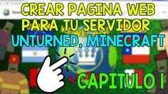 CREAR UNA PAGINA WEB PARA TU SERVIDOR DE UNTURNED, MINECRAFT, ETC + PHOT...