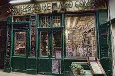 Paris bookstore Shakespeare and Company