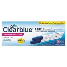 Clearblue Pregnancy Tests – Best Test at Home First Pregnancy, Pregnancy Test, Easy, Personal Care, Maternity, Kit, Country, Check, Blue