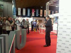 Il presidente Unidi Berrutti presenta #IDEADAKAR e #internationalexpodental #live #backstage #unidi #eccellenzadentale #amicidibrugg #madeinitaly