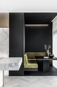 Residence M&S by Dieter Vander Velpen Architects Photography by Thomas De Bruyne Marble by Il Granito