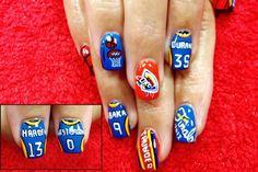 Nails by me, Christi Watson @ Deja' Vu Salon, OKC