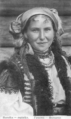 Bride in the Hutsul region of the Carpathians in Ukraine.