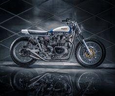 ϟ Hell Kustom ϟ: Triumph Bonneville By Mule Motorcycles