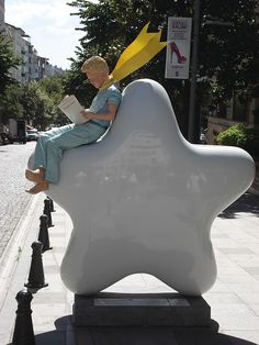 Little Prince Sculpture in Turkey - Küçük Prens heykeli, Türkiye
