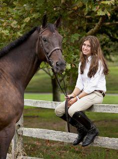 Girl with her horse | Deborah Kalas Equestrian Photography