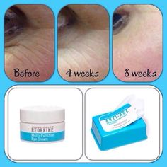 Redefine Eye Cream and Facial Cloths