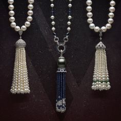 Discover Yoko London's range of elegant pearl tassel necklaces. Many have been designed with a detachable tassel, giving you the flexibility to wear these beautiful pieces in a variety of different ways, from day to night.