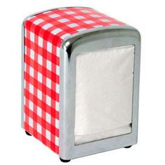 If you've already got your tomato shaped ketchup bottle but are missing the finishing touch for your kitchen, this diner style napkin holder may be Vintage Diner, Retro Diner, 1950s Diner Kitchen, Diner Sign, Diner Party, Dinner Themes, Cafe Shop, Kitchen Themes, Retro Home
