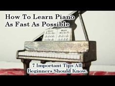 How To Play Piano Tutorial - 7 Important Piano Lesson Tips Beginners Need To Know