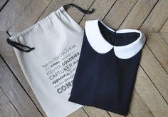 2012 - Les Composantes  by Morgane Sezalory  http://lescomposantes.com/  Polka blouse