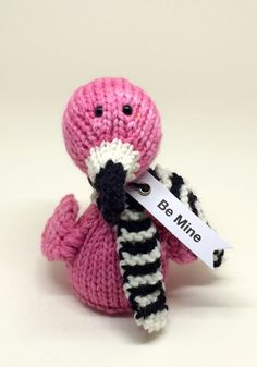 """So be different this Valentines Day -- forget the teddy bears and the chocolates. Instead why not let a fabulous flamingo named Freddie convey the message """"Be Mine"""" to your Valentine?"""
