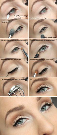 Clean Eyes Tutorial | Helen Torsgården - Hiilens sminkblogg | Veckorevyn