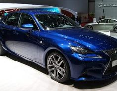 Geneva debut for the Lexus IS300h