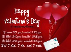 happy valentines day - Happy Valentines Day Text Message